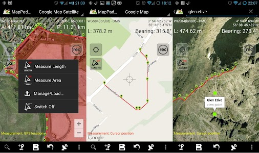 Map Pad GPS Surveys & Measure screenshot 16