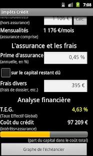 Simulation Impôts et Crédit- screenshot thumbnail