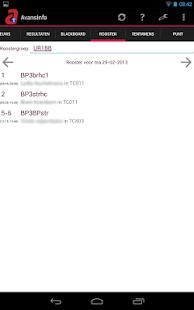 AvansInfo (Rooster, Cijfers) - screenshot thumbnail
