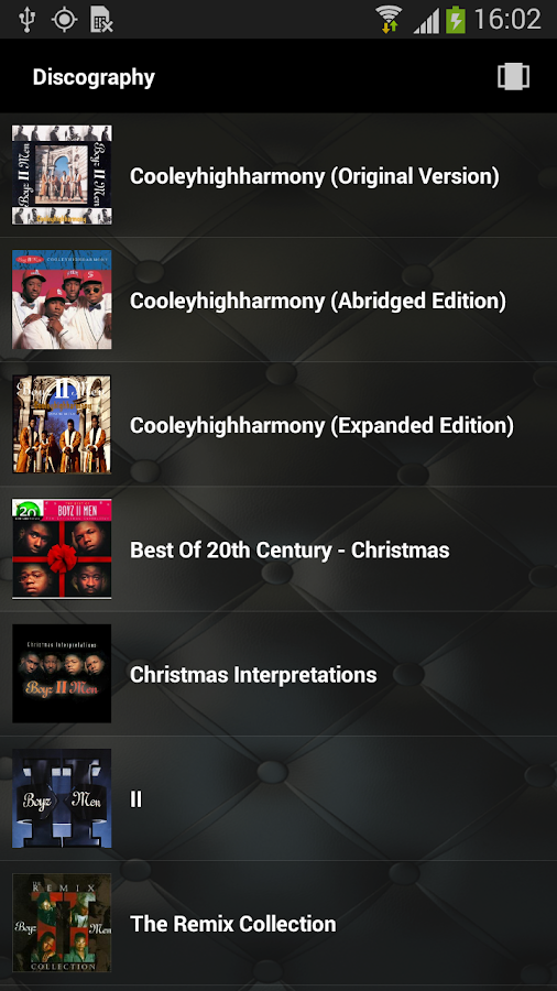 Boyz II Men App- screenshot