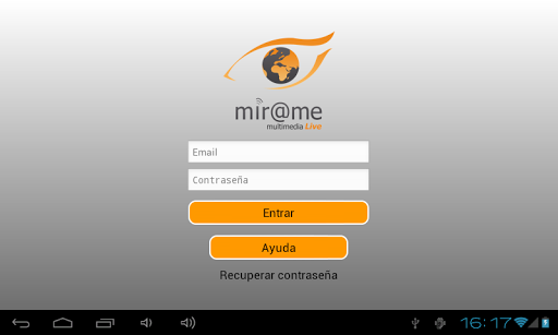 Mirame Live Player