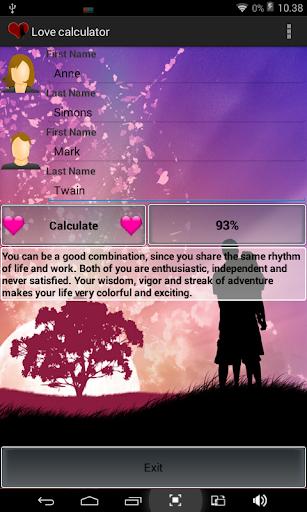 【免費生活App】Love calculator-APP點子