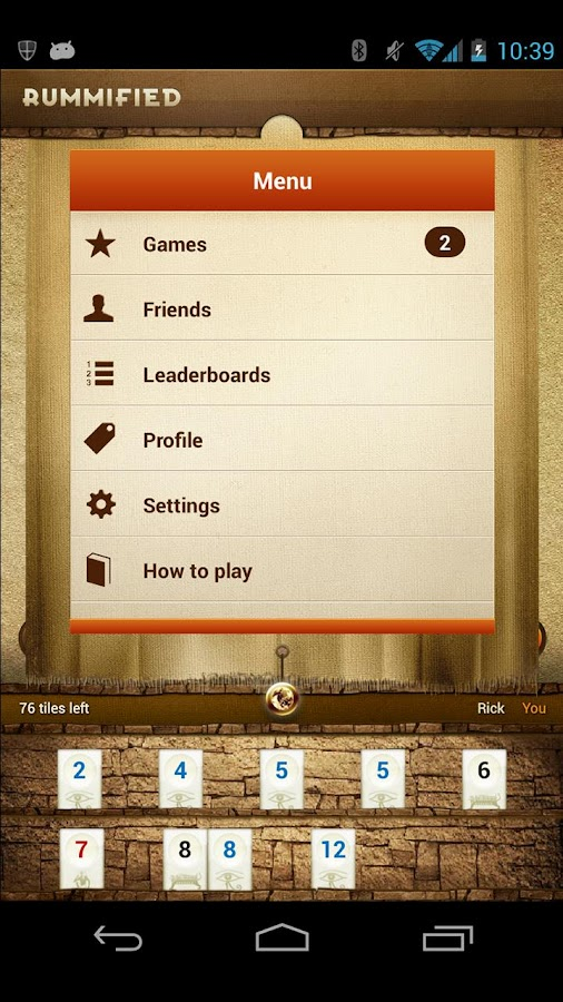 Rummified- screenshot