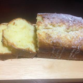 Lemon Sour Cream 'not a pound' Pound Cake