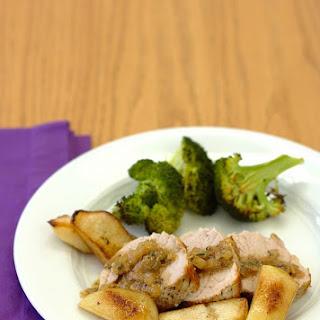 Roast Pork Tenderloin with Pears and Cider