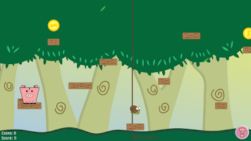 Screenshot of Piggy Jump