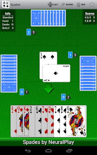 Spades by NeuralPlay - screenshot thumbnail
