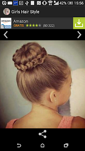 Trendy hairstyles for girls screenshot 0