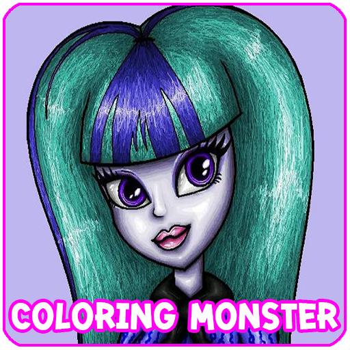 Coloring Game For Monster High 解謎 App LOGO-APP試玩