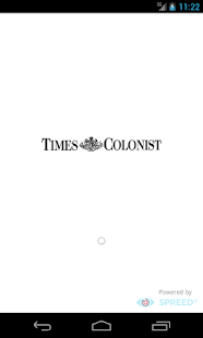 Victoria Times Colonist - screenshot thumbnail