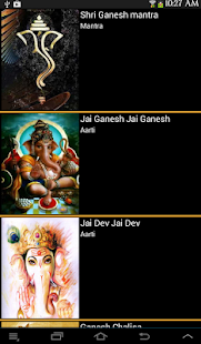 Ganesh Aarti and Mantras- screenshot thumbnail