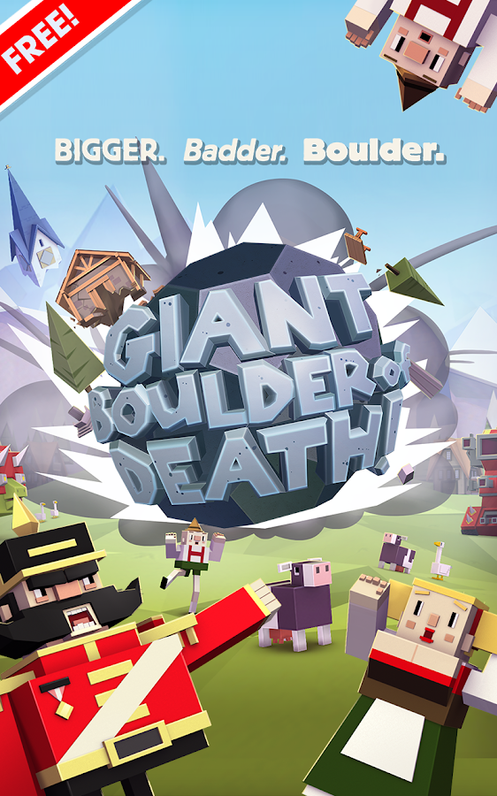 Giant Boulder of Death - screenshot