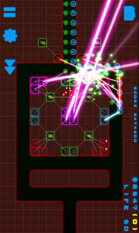 Neon Defense - screenshot