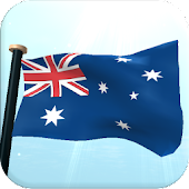 Australia Flag 3D Wallpaper