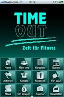 Screenshot of TimeOut Fitness