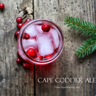 Cape Codder Ale Cocktail.