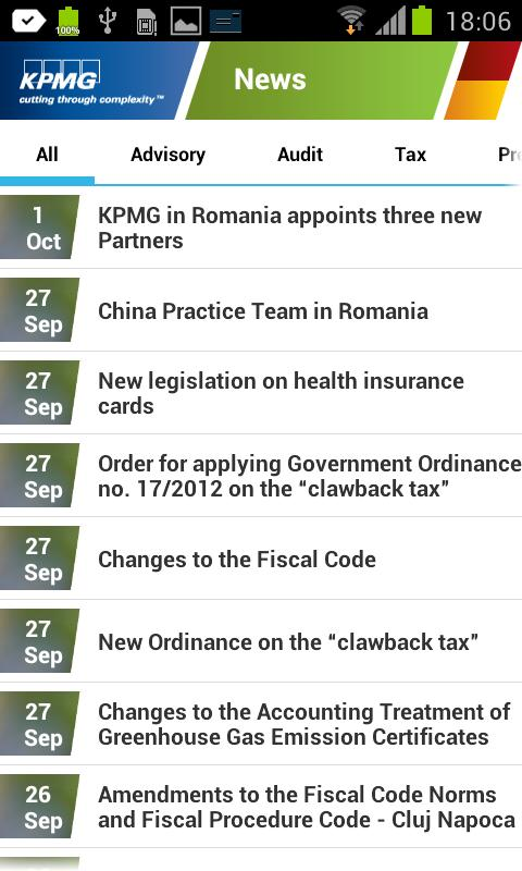 KPMG - TaxExpress - screenshot