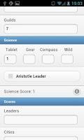 Screenshot of Score Assistant for 7 Wonders