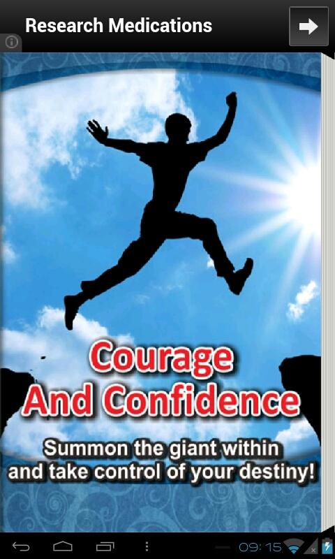 Courage and Confidence - screenshot