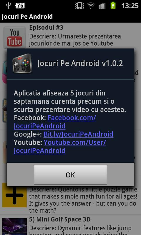 Jocuri Pe Android - screenshot