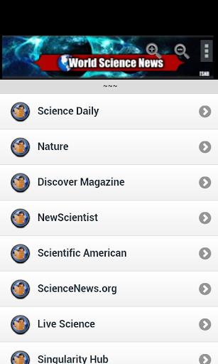 World Science News