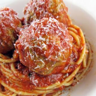 Ricotta Cheese Meatballs.