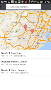 Be Well - Overlook Med Ctr - screenshot thumbnail