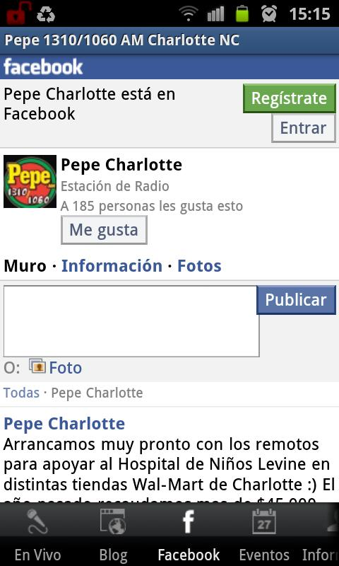 Pepe 1310/1060 AM- screenshot
