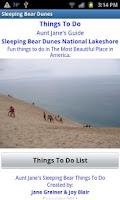 Screenshot of Sleeping Bear Things To Do