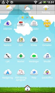 Summer Sky GO Launcher Theme - screenshot thumbnail