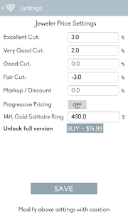 Diamond Calculator PRO screenshot 6