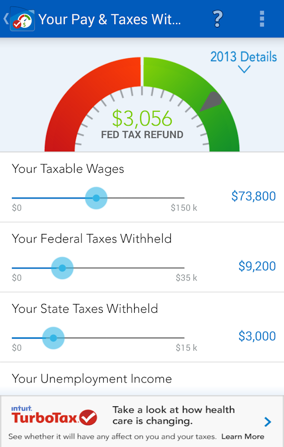 taxcaster by turbotax free android apps on google play