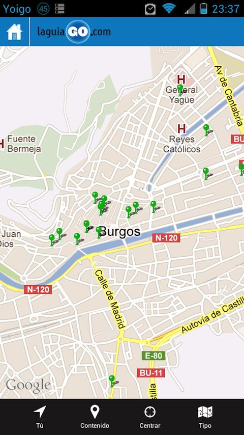 laguiaGO- screenshot