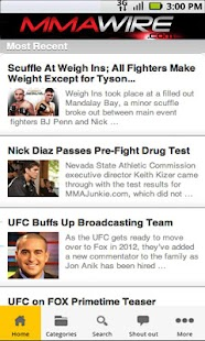 MMA Wire - screenshot thumbnail