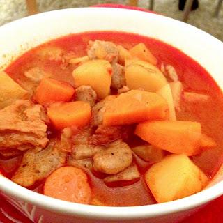 Vegan Hungarian Goulash.
