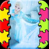 Recreat Frozen Princess Puzzle