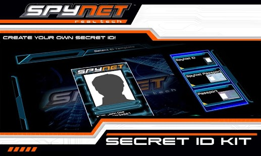 Spy Net Secret ID Kit- screenshot thumbnail