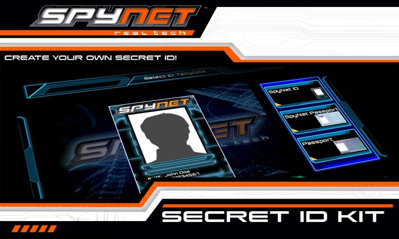 Spy Net Secret ID Kit- screenshot
