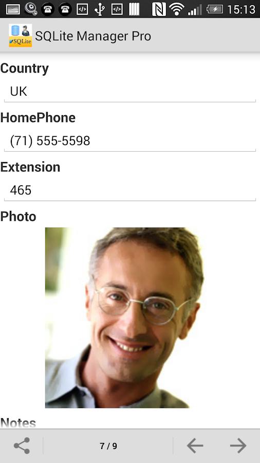 SQLite Manager Pro - screenshot