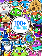 My Boo Album - Virtual Pet Sticker Book For Kids screenshot thumbnail