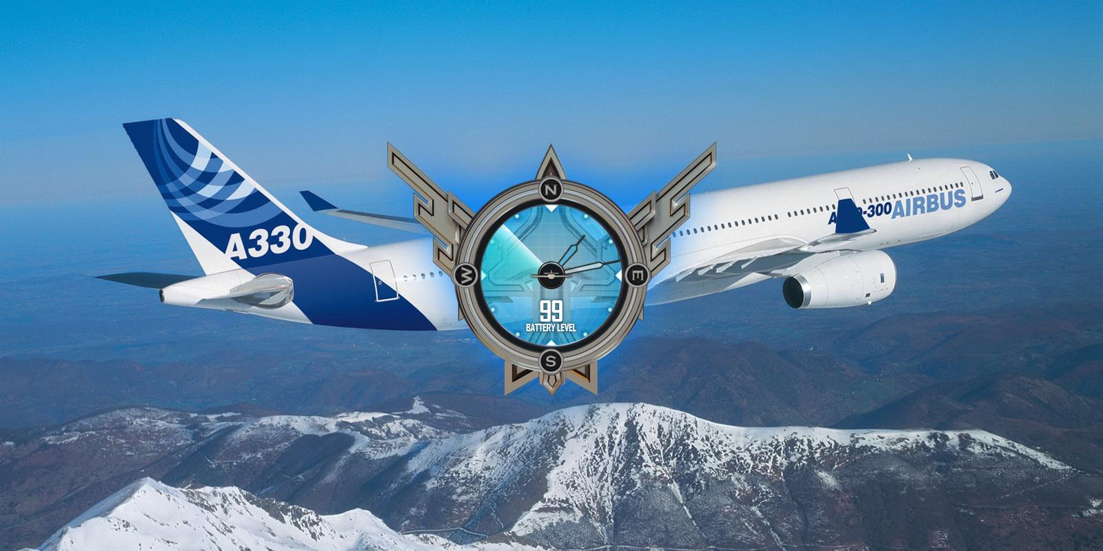 Airbus A330 Airplane Wallpaper- screenshot