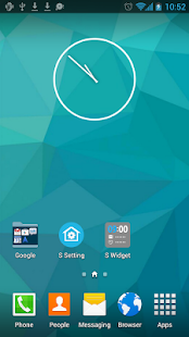 S Launcher (Galaxy S5 Launcher - screenshot thumbnail