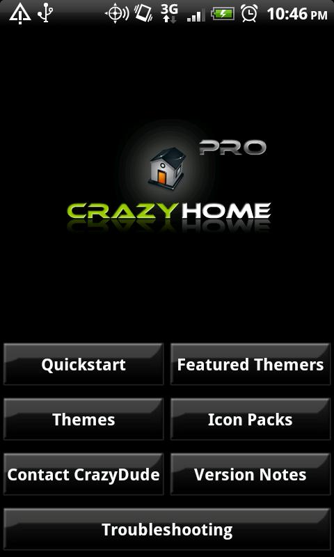 Crazy Home- screenshot