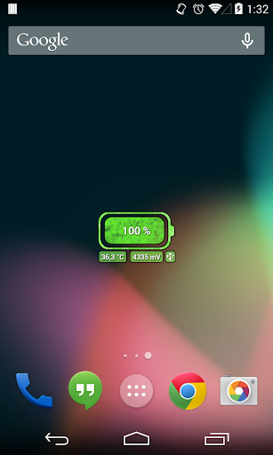 [Battery Theme] Grunge Green