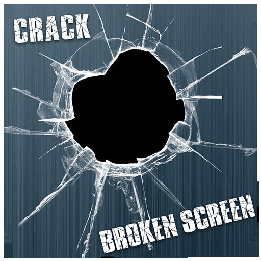 壊れた携帯電話亀裂ジョーク 娛樂 LOGO-玩APPs