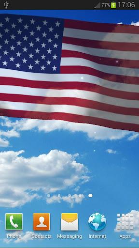 美國國旗動態桌布