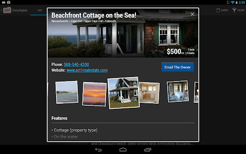 Dwellable Vacation Rentals - screenshot thumbnail