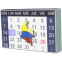 Calendario Festivos Colombia 2017 2018 con Widget icon