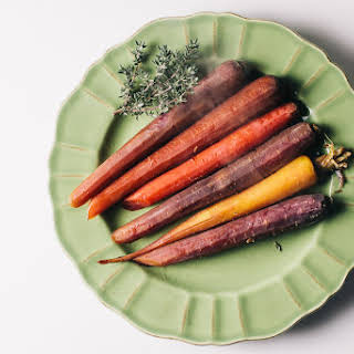 Slow-Cooked Carrots.