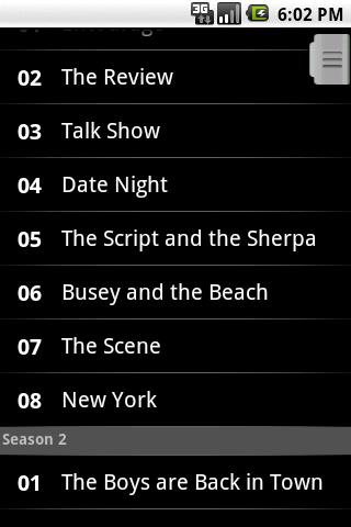 TV Shows Light - screenshot